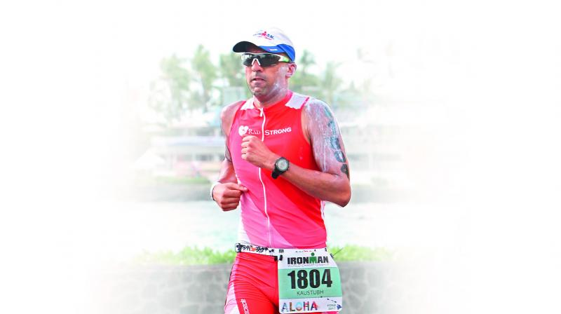 Kaustubh Radkar is the poster boy of Ironman in India. Having begun his triathlon journey when the sport was unheard of in India, he now has the highest number of Ironman finishes.