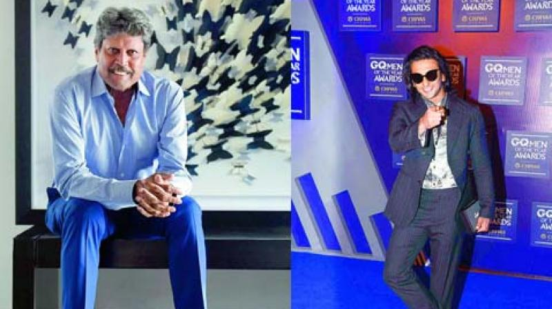 Not Arjun Kapoor but Ranveer Singh to play Kapil Dev on
