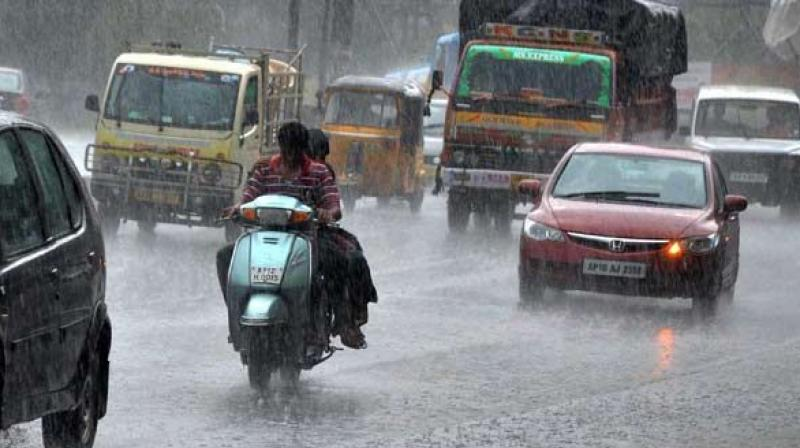 The upper air circulation which turned into depression over the Bay of Bengal strengthened the current, resulting in heavy rains accompanied by a strong gale. (Representational image)