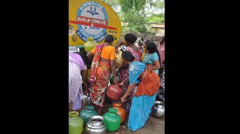 The panchayat raj and rural development department, which manages rural water supply, has sought Rs 400 crore in contingency relief to supply water to villages through tankers and to repair wells and bore wells.