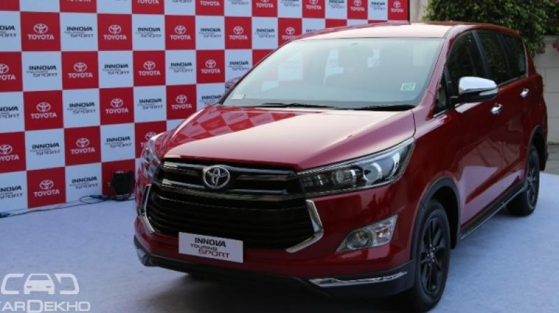 Toyota Introduces Innova Touring Sport At Rs 17 79 Lakh