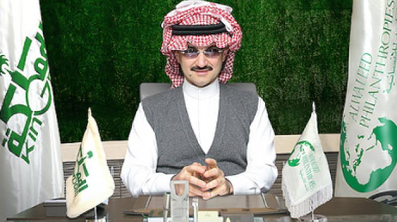 Saudi billionaire Prince Al-Waleed bin Talal was among those arrested by the anti-corruption commission. (Photo: Alwaleed_Talal   Twitter)