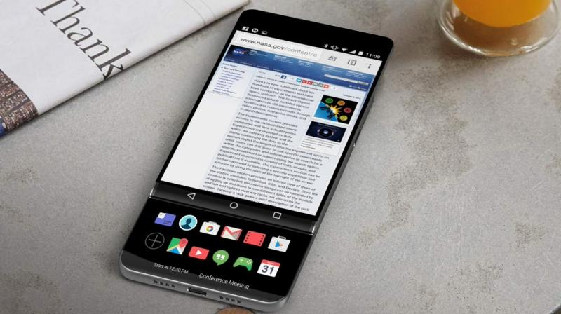 Secondary displays have always been trademarks of the LG V's series of smartphones.