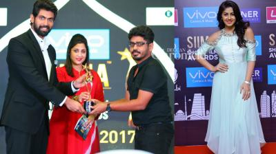 Rana Daggubati and several other stars from the South film industry were present at the award ceremony for the short films section of the SIIMA Awards held in Chennai on Monday. (Photo: Viral Bhayani)