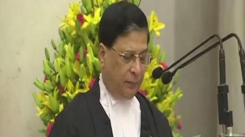 Justice Dipak Misra Sworn In As 45th Chief Justice Of India