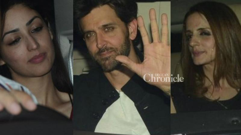 Rakesh Roshan threw a bash for the team of his upcoming film 'Kaabil' on Sunday where numerous celebrities were spotted. (Photo: Viral Bhayani)