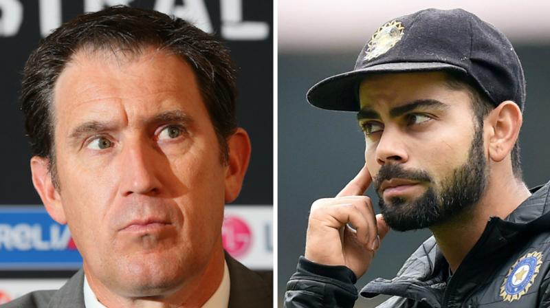 "James Sutherland believes that Virat Kohli's allegations about Steve Smith's illegal DRS tactics were ""not appropriate"". (Photo: ICC/ PTI)"