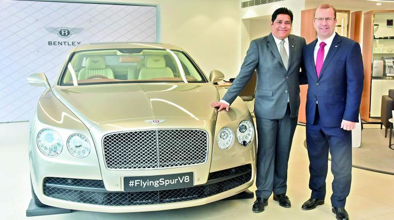 Bentley glides into Hyd with first South India facility