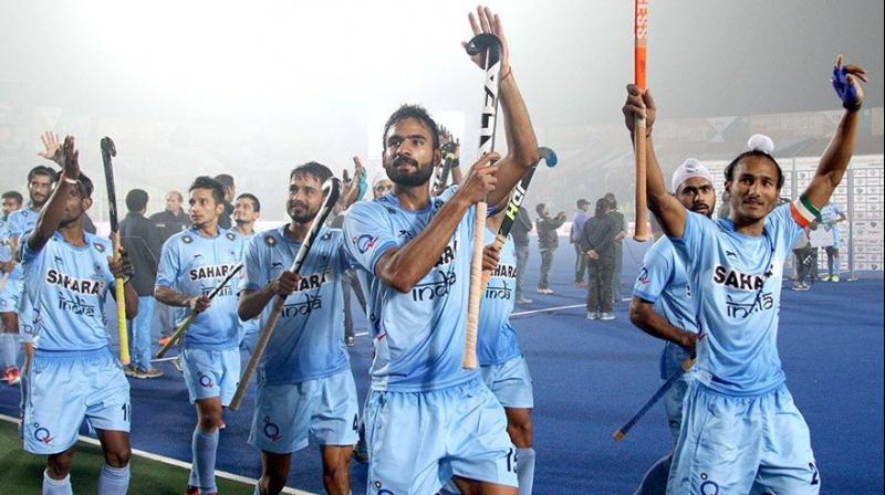 India scored both their goals from field efforts through skipper Harjeet Singh and Mandeep Singh. (Photo: Hockey India)