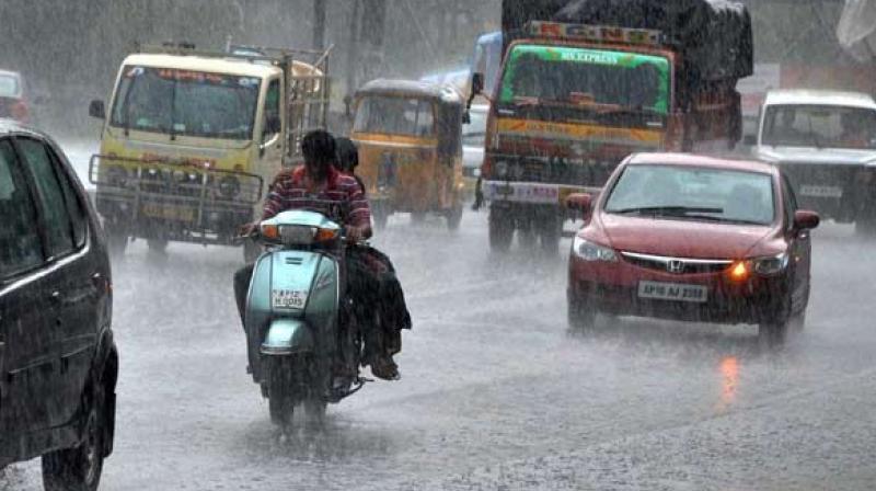 Moderate rain likely in coastal Andhra Pradesh