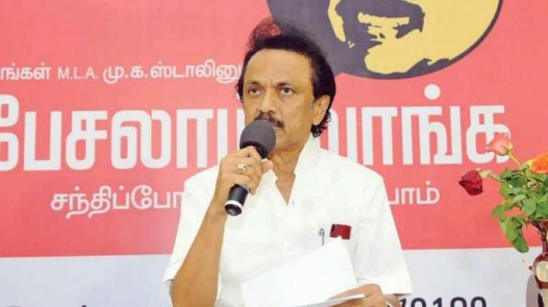 DMK chief Stalin taunts Panneerselvam on loyalty to the late CM Jayalalithaa