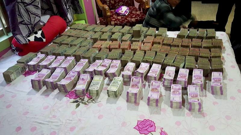 Over Rs 3590 crore undisclosed income detected