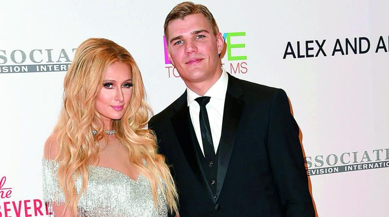 Paris Hilton's boyfriend just got her name tattooed on his arm