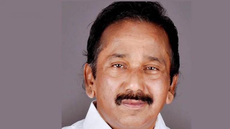 Kerala NCP president Uzhavoor Vijayan passed away