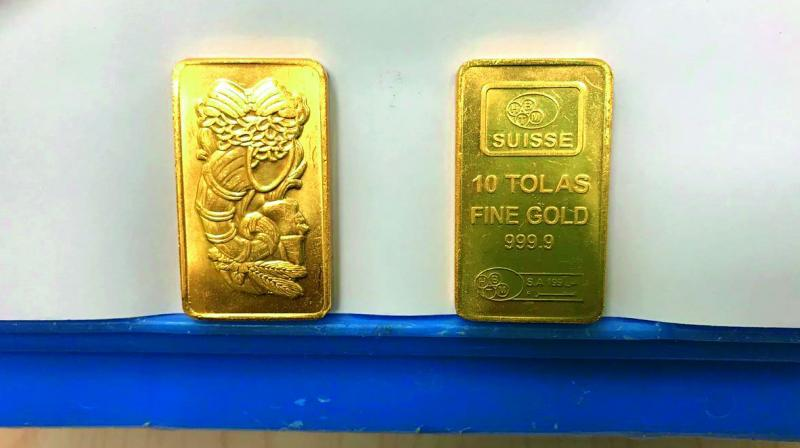 Gold spirals on brewing tension between US, NK