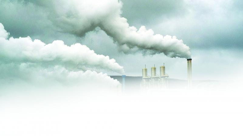 Scientists said that pollution from factories and cars has been pumping aerosols into the air which has been combining with the water in the clouds