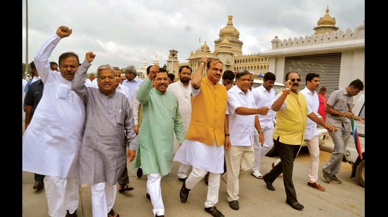 BJP accuses Karnataka government of 'misusing' authority to implicate its leaders
