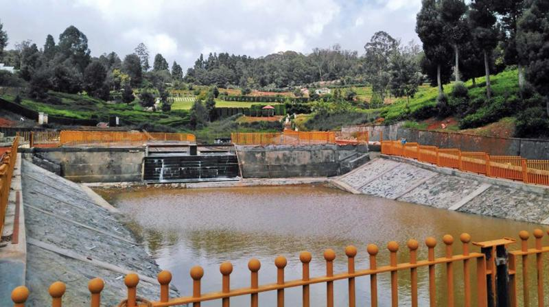 Fountains and six ponds developed in the garden will provide aquatic attraction (Photo : DC)