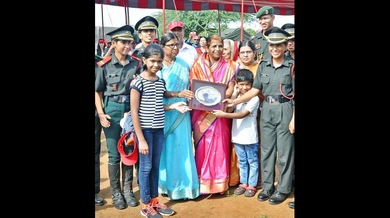 A New Beginning For Wives Of Martyrs As They Join The Army