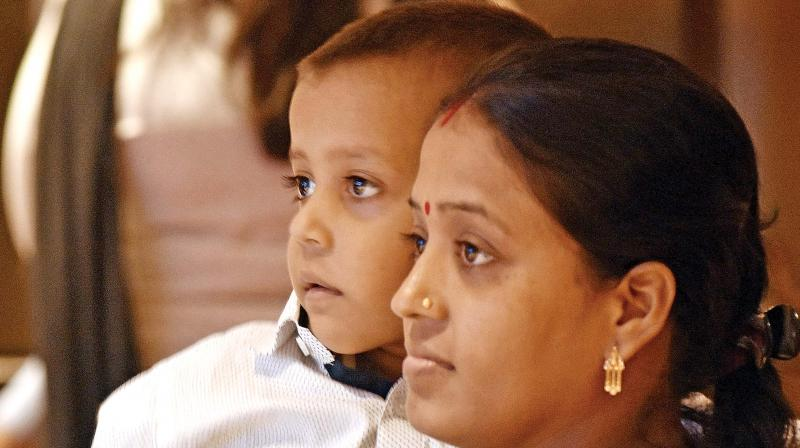 Shown Debnath with his mother at Apollo  Children's Hospital in Chennai on Monday(Photo: DC/Representational Image)
