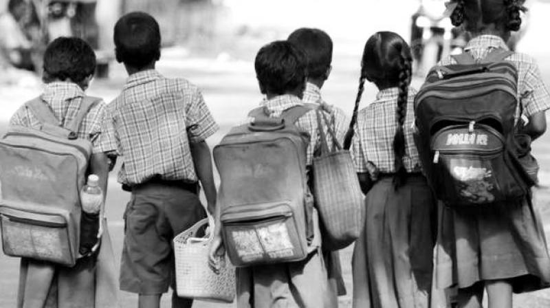 Neither government nor private schools offer a safe environment for kids (photo used for representation purpose only)