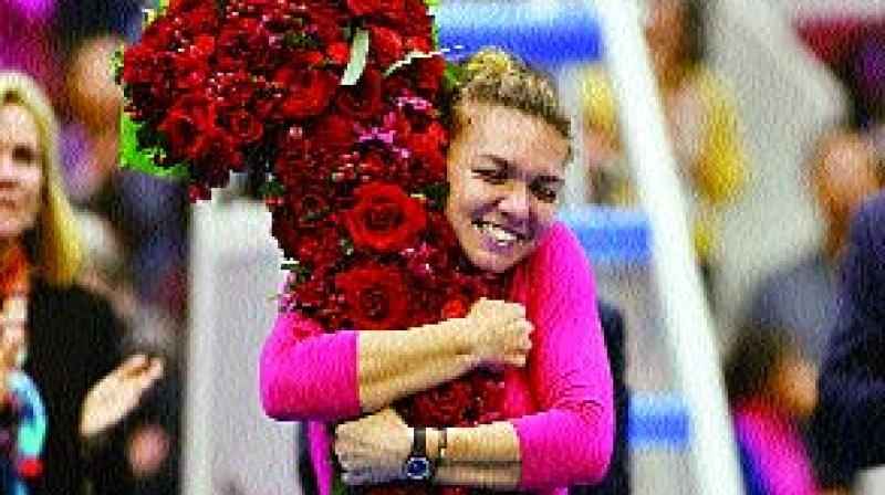 Halep going close in yet another bid to be No. 1