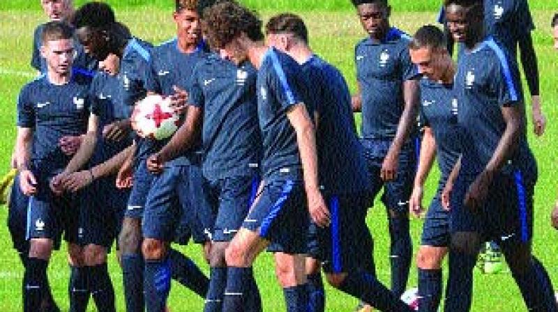 France hammer debutants New Caledonia 7-1