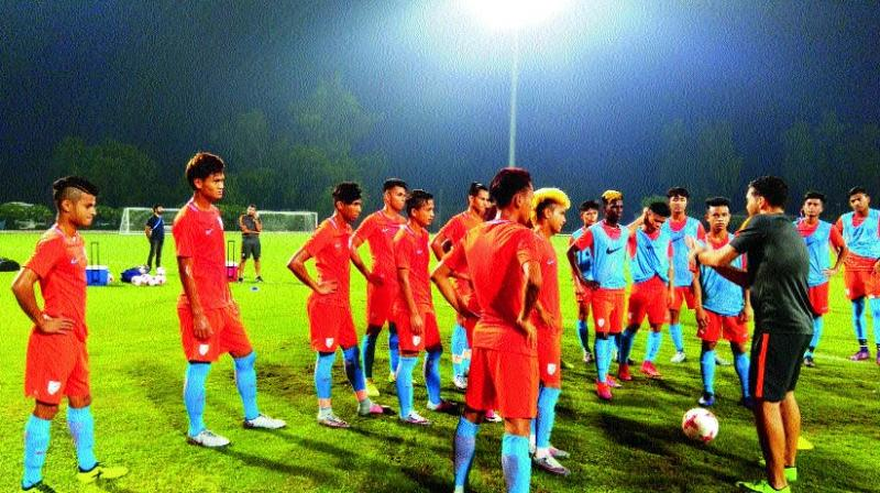 Gritty India lose to Colombia 2-1 in U-17 World Cup