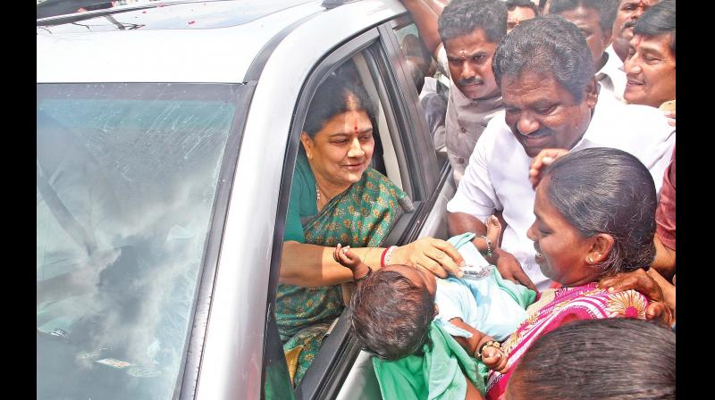 Sasikala returns to prison after parole