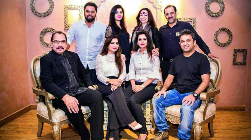 Imran Khan, Danish Khan, Sharon Aamir, Sravanthi Juluri, Ehtesham, DJ Piyush, Esha Hindocha and Aliya Baig