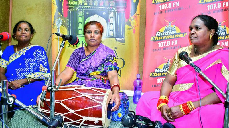 """Our songs have been inherited by us from our teachers and family members,"""" Ms Begum says."""