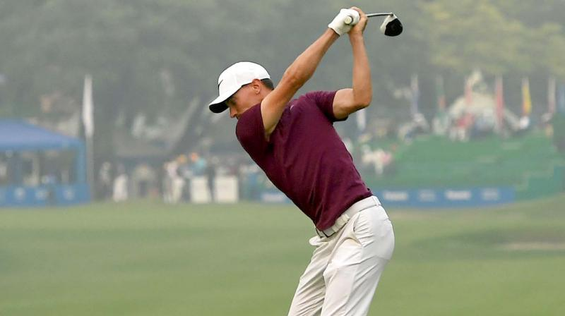 Panasonic Open: Paul Peterson blazes to lead