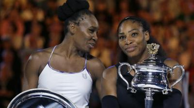 Serena Williams clinched her 23 Grand Slam title as she defeated sister Venus Williams in the Australian Open final here on Saturday. (Photo: AP)