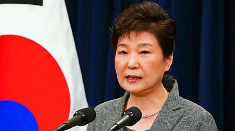 Former South Korean President Park Geun-hye. (Photo: AP)