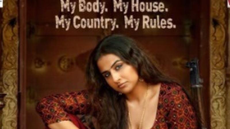 Vidya Balan rules in first poster of Begum Jaan