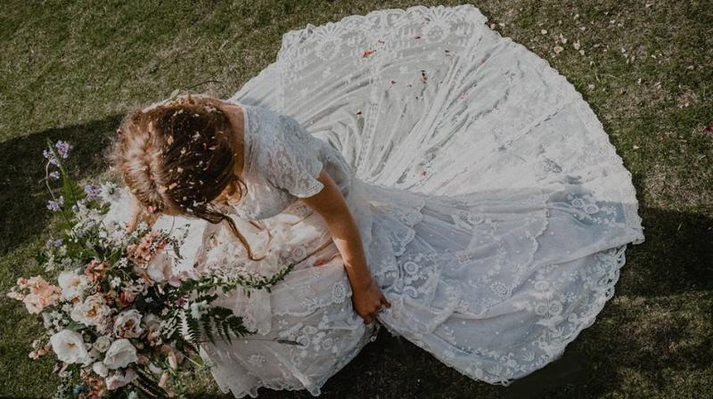 Woman's appeal to find 150-year-old family wedding dress goes viral