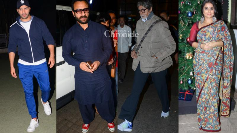 Bollywood celebrities were spotted in Mumbai on Tuesday. (Photo: Viral Bhayani)