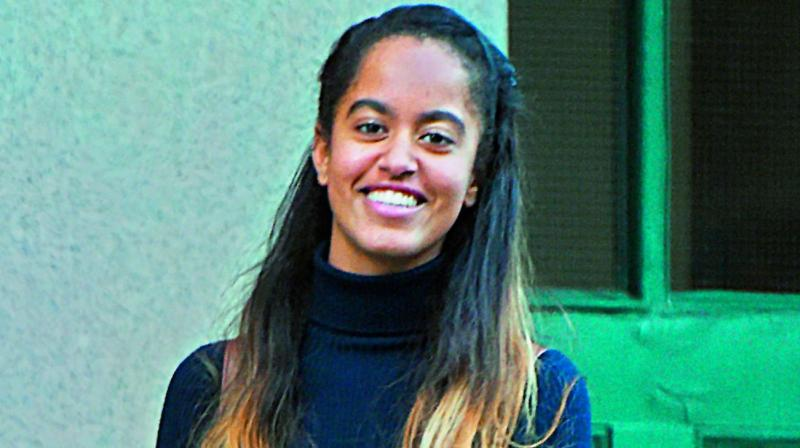Malia Obama snaps at woman taking her photo