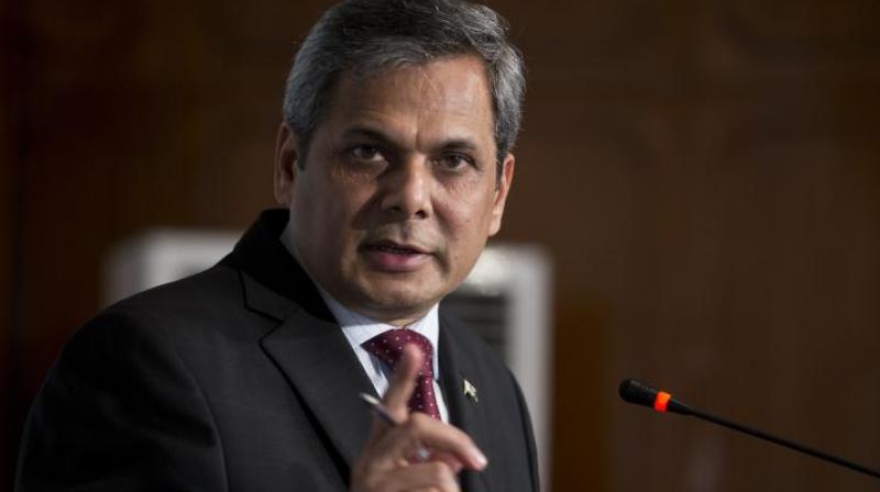 Pakistan's Foreign Ministry spokesman Nafees Zakaria. (Photo: AP)