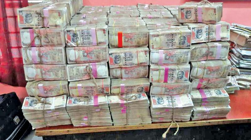 Chennai: Demonetised notes in crores recovered from shop that sells police uniforms