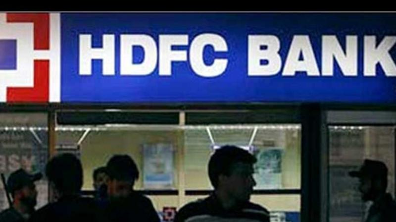 HDFC Bank on Tuesday surpassed Tata Consultancy Services to become the country's second most valued firm. Photo: PTI