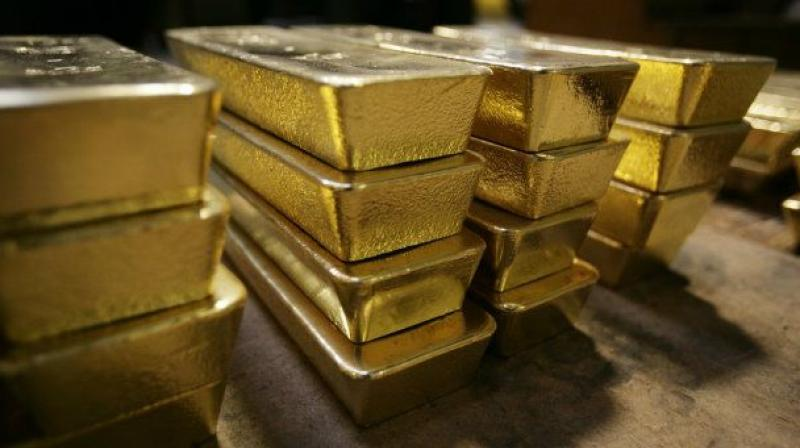 Globally, gold was trading 1.96 per cent higher at USD 1,260.90 an ounce in New York.