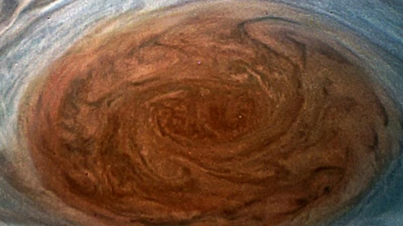 Jupiter's Great Red Spot Imaged Like Never Before