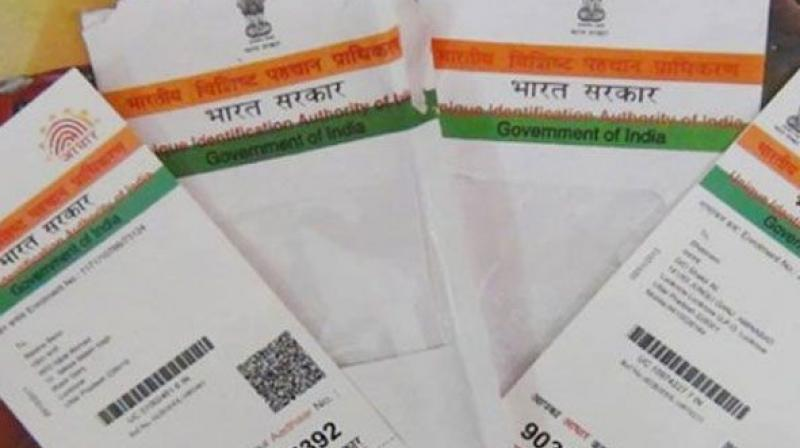 Aadhaar is must to check misuse of PAN card, Govt tells SC