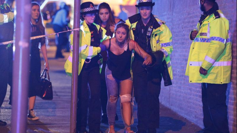 A suspect terror attack at Manchester Arena killed 19 people and injured 59 from among those who had gathered for an Ariana Grande concert in Manchester, England, Monday, May 22, 2017.