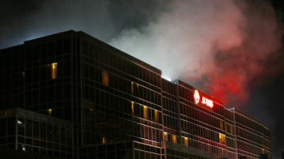 A gunman stormed a casino in the Philippine capital and torched gambling tables in the crowded space, creating a choking level of smoke that killed at least 36 people, authorities said.