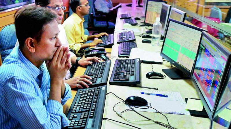 The market capitalisation of listed firms stood at Rs 12,557,806 crore.  (Photo: AP)