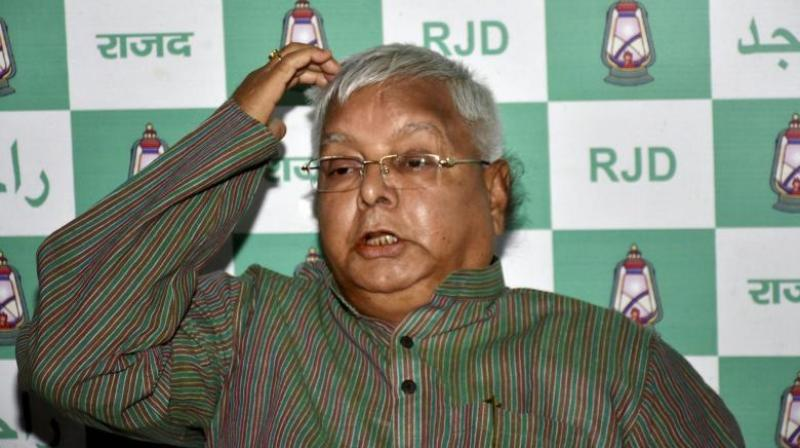 The CBI is conducting raids at the residences of former railway minister Lalu Yadav and his