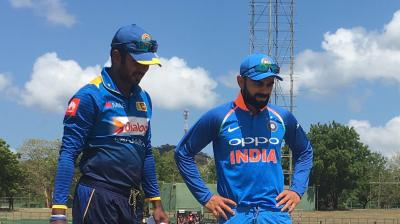India will hope to extend lead, while Sri Lanka will look to fight back. (Photo: Twitter / BCCI)