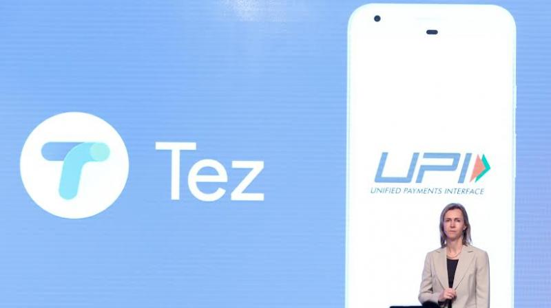 Google Tez UPI based mobile payments app launched in India
